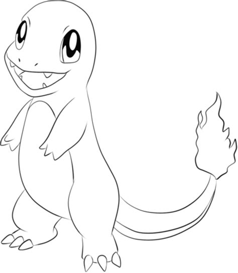 pokemon coloring pages natu charmander coloring page from generation i pokemon