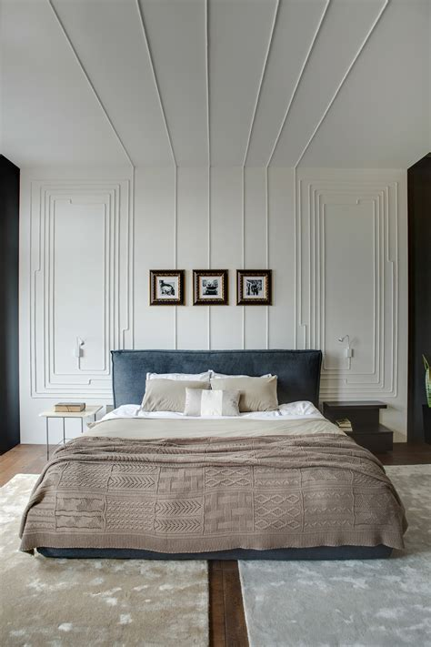 bedroom wall with cords modern apartment takes openness to a whole new level