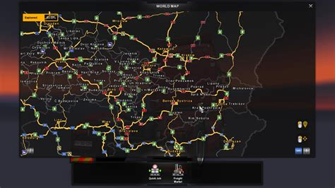 ets2 usa map cz sk addon map v2 1 ets 2 truck simulator 2 mods