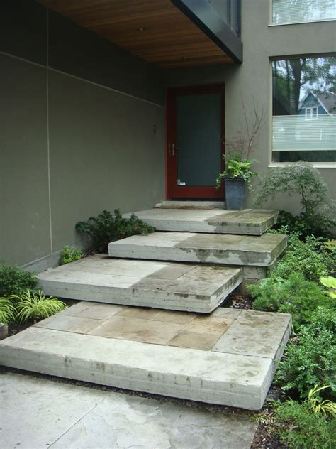 image result  groundedmodern exterior stairs