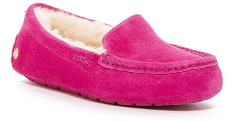 ugg slippers pink pink ugg ansley slippers