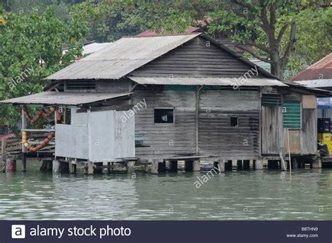 village jetty stock photo image 64063688 stilt house near the landing jetty at ubin village pulau