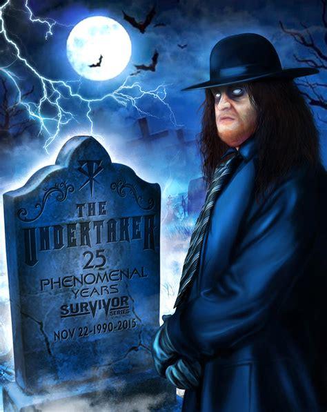undertaker painting the undertaker 25 by deadwoodman on deviantart