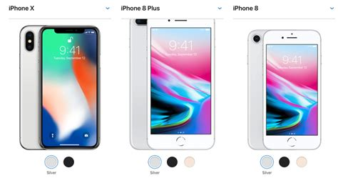 iphone x or iphone 8 price size all factor in your buying decision zdnet