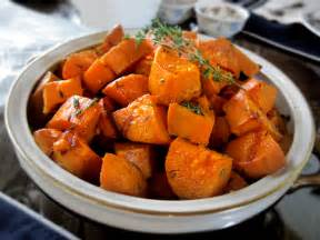 yam sweet potato recipes thanksgiving garlic thyme roasted sweet potatoes you might never eat