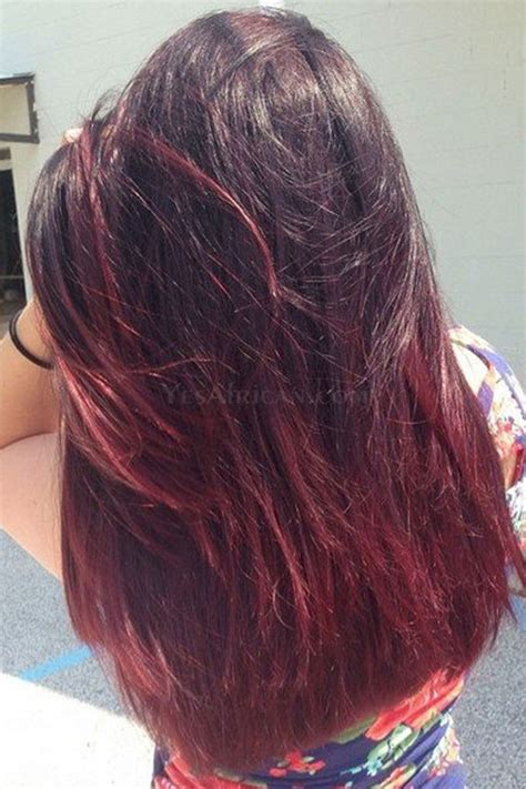 99j hair color weave ombre hair weave color1b 99j human hair 3