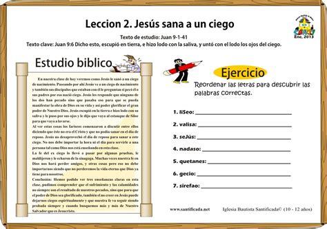 preguntas biblicas del nacimiento de jesus lecci 243 n 2 jes 250 s sana a un ciego iglesia de ni 241 os