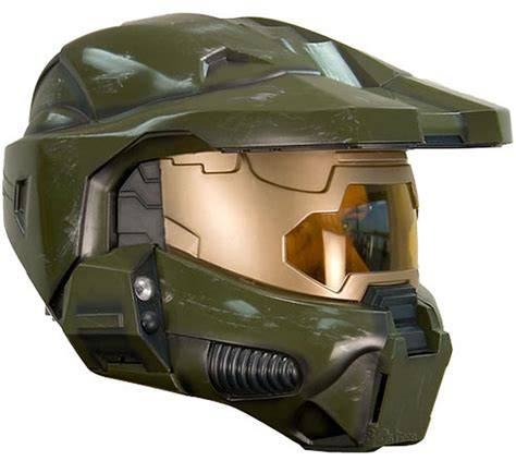 How To Make A Master Chief Helmet Out Of Paper - halo 3 master chief dlx helmet