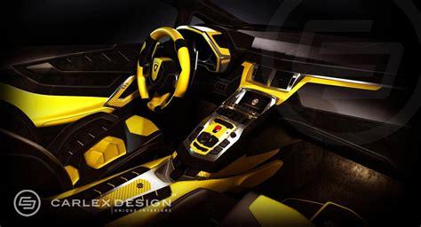 yellow and black lamborghini carlex design lamborghini aventador lp720 4 anniversario