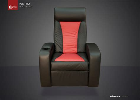 Cineak Nero Seats Used In Media Room Seating By Cineak Gt Gt Nero Recliner Chairs