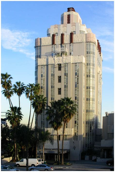 Deco Apartment Buildings Los Angeles Los Angeles 8358 Sunset Blvd Sunset Tower Apartments