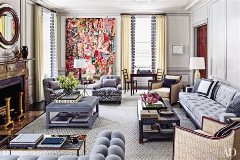 How To Decorate Your Living Room How To Incorporate Ottomans Into Your Living Room Decor Photos Architectural Digest