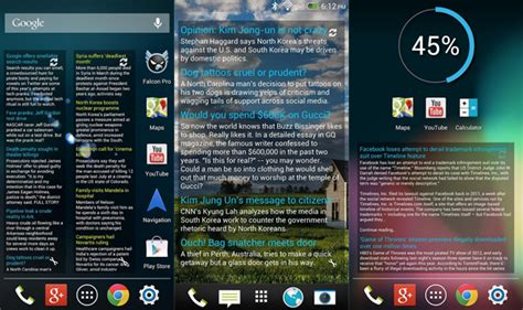 news widgets for android 5 best android news widget february 2014 aw center