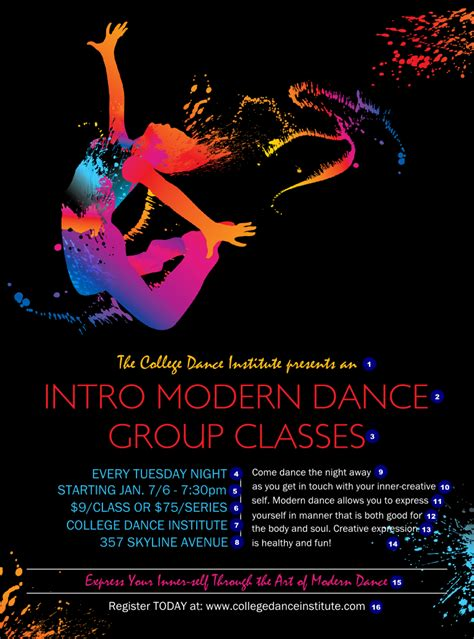 templates for dance flyers modern dance black flyer ticketprinting com