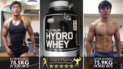 Best Testing Whey 5 Lbs Elitelabs optimum nutrition platinum hydro whey protein review