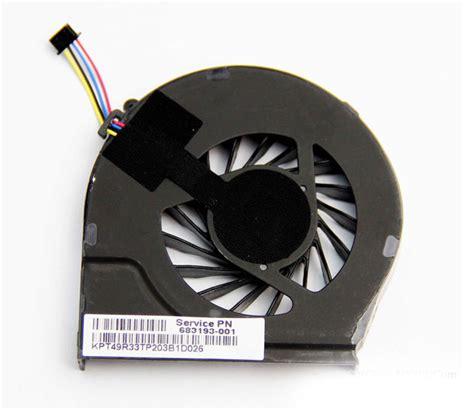 hp pavilion   series laptop cpu cooling fan