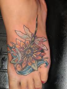 Tattoos Of Lotus Flowers Lotus Flower Tattoos Ideas For Best Pictures