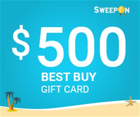 Best Buy Gift Card Rules - win the prize of the day 500 best buy gift card sweepon com