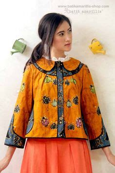 Blouse Brukat Semi Kebaya blouse batik kombinasi brokat klambi batik kebaya brokat and blouses