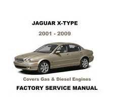 Jaguar Manuals Jaguar X Type Repair Manual Ebay