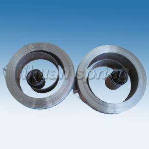 flat wire coil springs china flat wire springs china flat coil flat wire