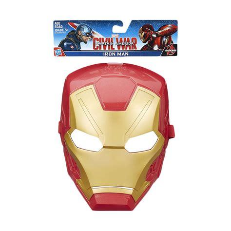 Mainan Topeng Captain America Lu Terbatas jual hasbro marvel captain america civil war iron mask b6742 mainan anak harga