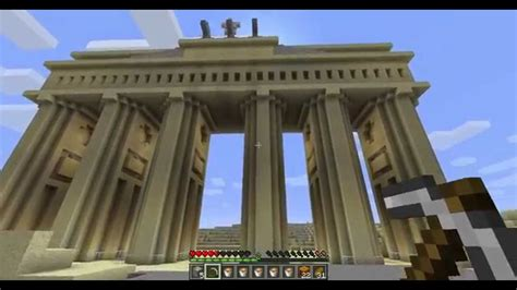 Minecraft epic Building: Brandenburger Tor   YouTube