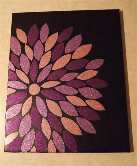 fabric crafts canvas wall flower fabric canvas modge podge diy i
