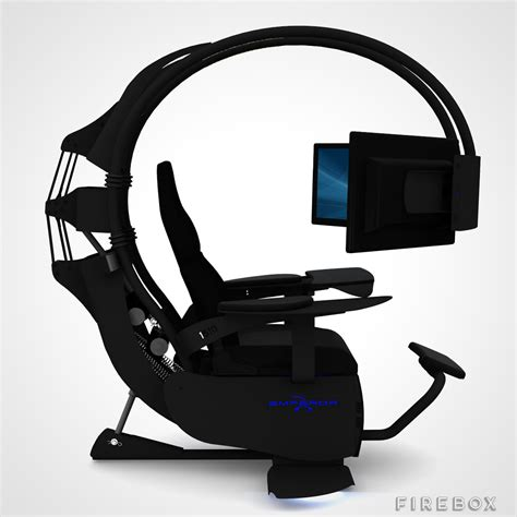 The Emperor Gaming Chair by Emperor 1510 Computer Environment Buy At Firebox