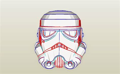 Stormtrooper Helmet Template dali lomo wars stormtrooper helmet diy cardboard