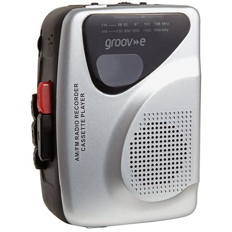walkman cassette player groov e retro series personal cassette player recorder