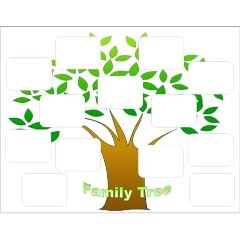 picture of family tree template family tree template free vector science templates for