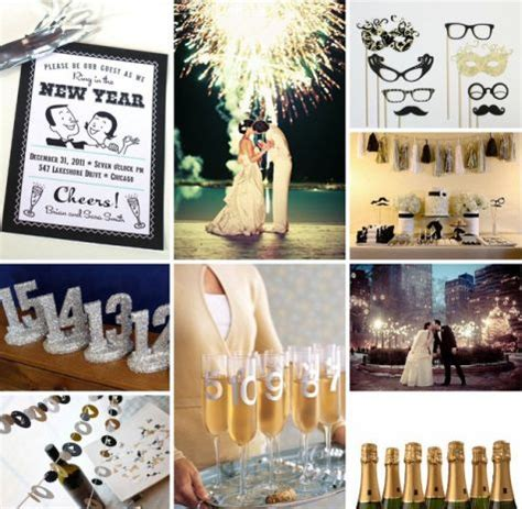 new year themed wedding new years wedding new years decor