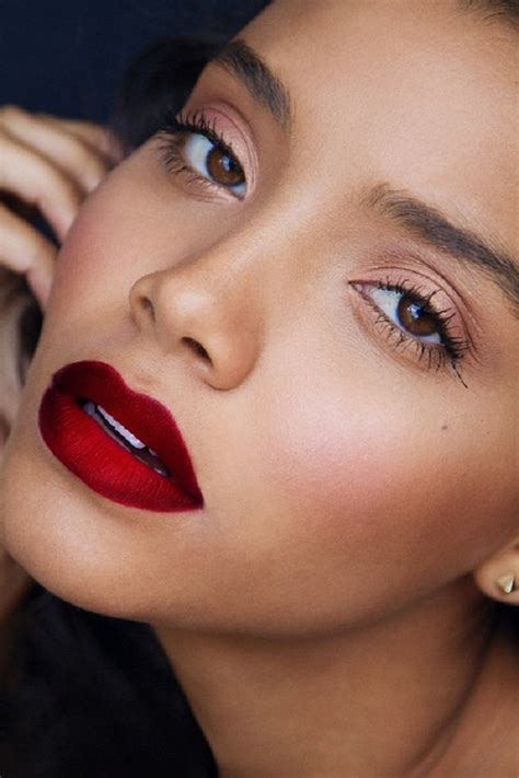 dark red lipstick for black women the curious case of bold lips this fall winter