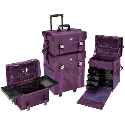 Tas Mox Handbag 3in1 Pink rolling makeup cases