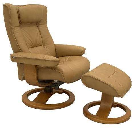 ergonomic recliner fjords regent ergonomic recliner and ottoman small
