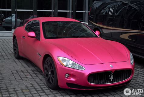 pink maserati here s a pink maserati from china where else autoevolution