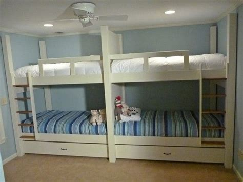 quad bunk beds handmade quad bunk bed by bsr woodworks custommade com