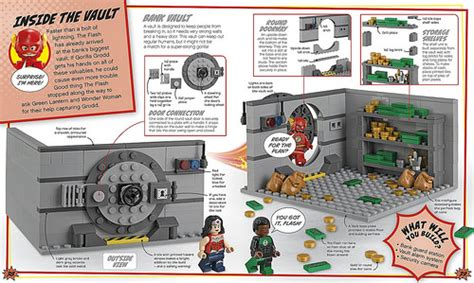 faster than lightning lego dc comics heroes activity book with minifigure lego dc heroes books lego dc comics heroes build your own adventure