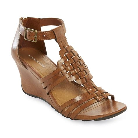 sears sandals womens covington womens wedge sandal flirty summery footwear