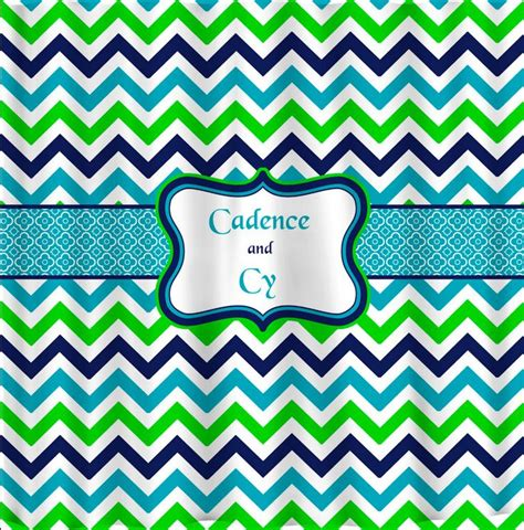multi color chevron curtains multi color traditional chevron with personalization