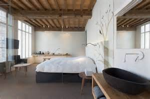 modern rustic bedroom modern rustic inspiration from belgium features exposed