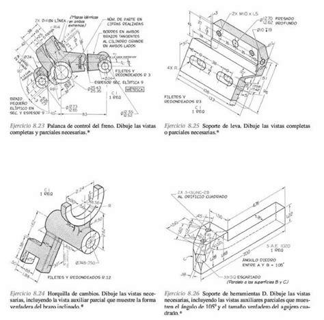 libro dibujo digital dibujo de ingenieria