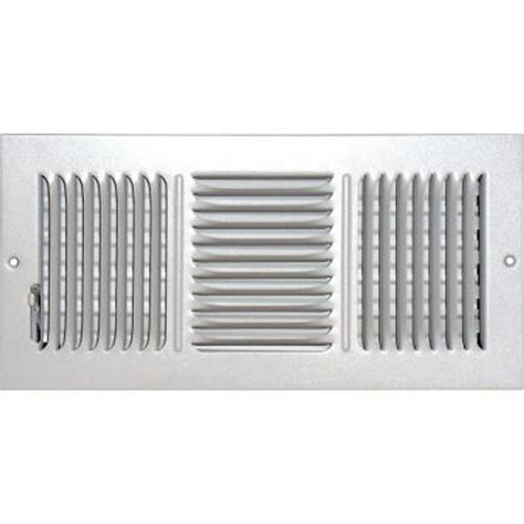 Sidewall Ceiling Register Vents by Speedi Grille 6 In X 14 In Ceiling Sidewall Vent