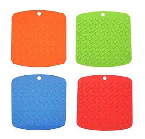 heat resistant l holder chichic heat resistant silicone pot holder trivet mat