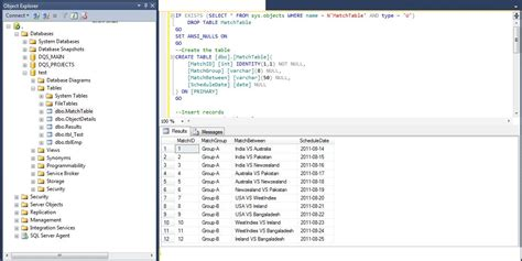 microsoft sql 2008 drop table if exists