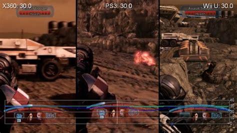 wii vs original xbox graphics mass effect 3 on xbox 360 vs ps3 vs wii u kotaku australia