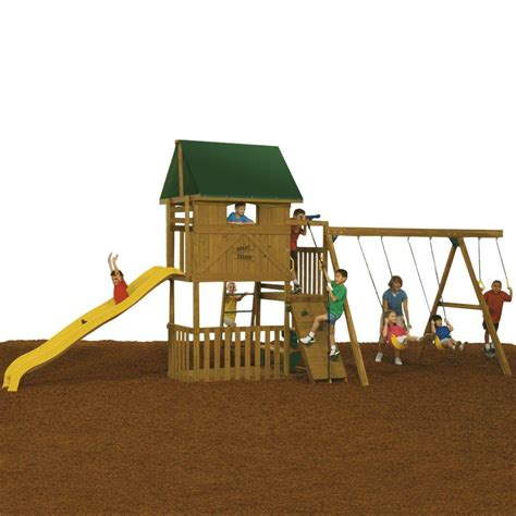 playstar swing set reviews playstar great escape ready to assemble starter playset kt