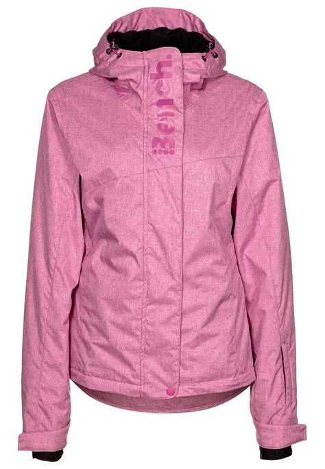 pink bench jacket bench iddy ice ski jacket in pink lyst