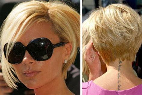 posh spice bob hair cuts short bob hairstyles with bangs